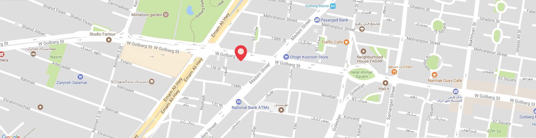نقشه و آدرس دود